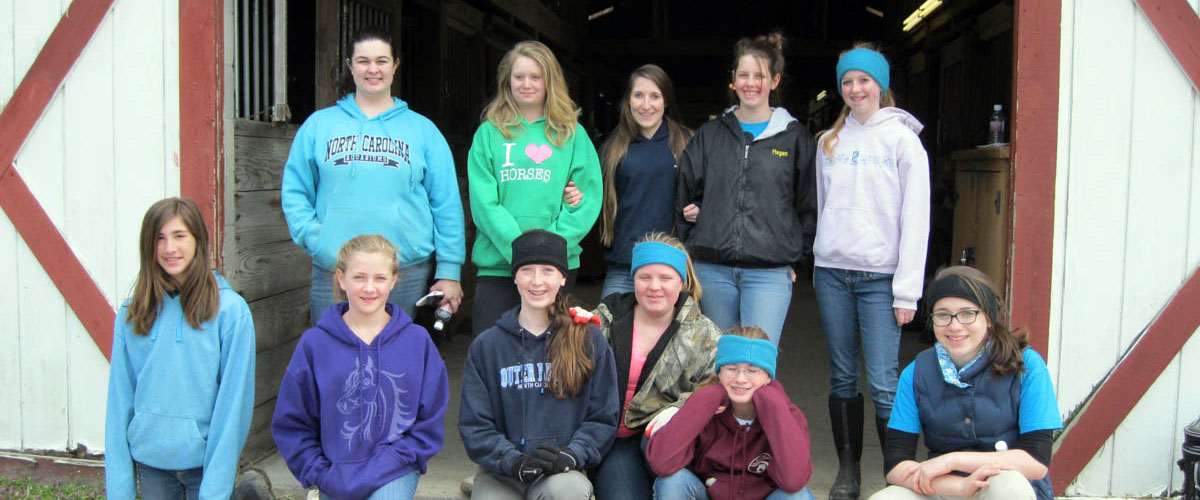 4H Barn Cleaning Help – Feb 2013